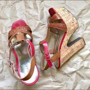 Bakers chunky platform light weight sandals